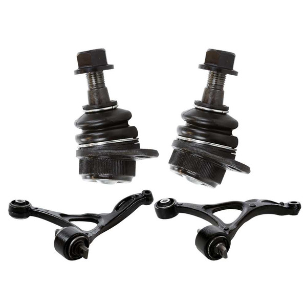 2 Lower Control Arms & 2 Lower Ball Joints - Part # SUSPPK01579