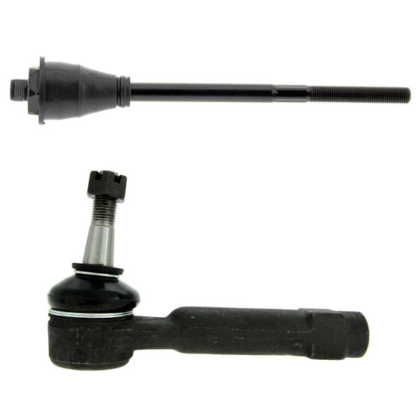 Front Tie Rod End Pair 2 Pieces Fits Driver or Passenger side - Part # TRK3037-038
