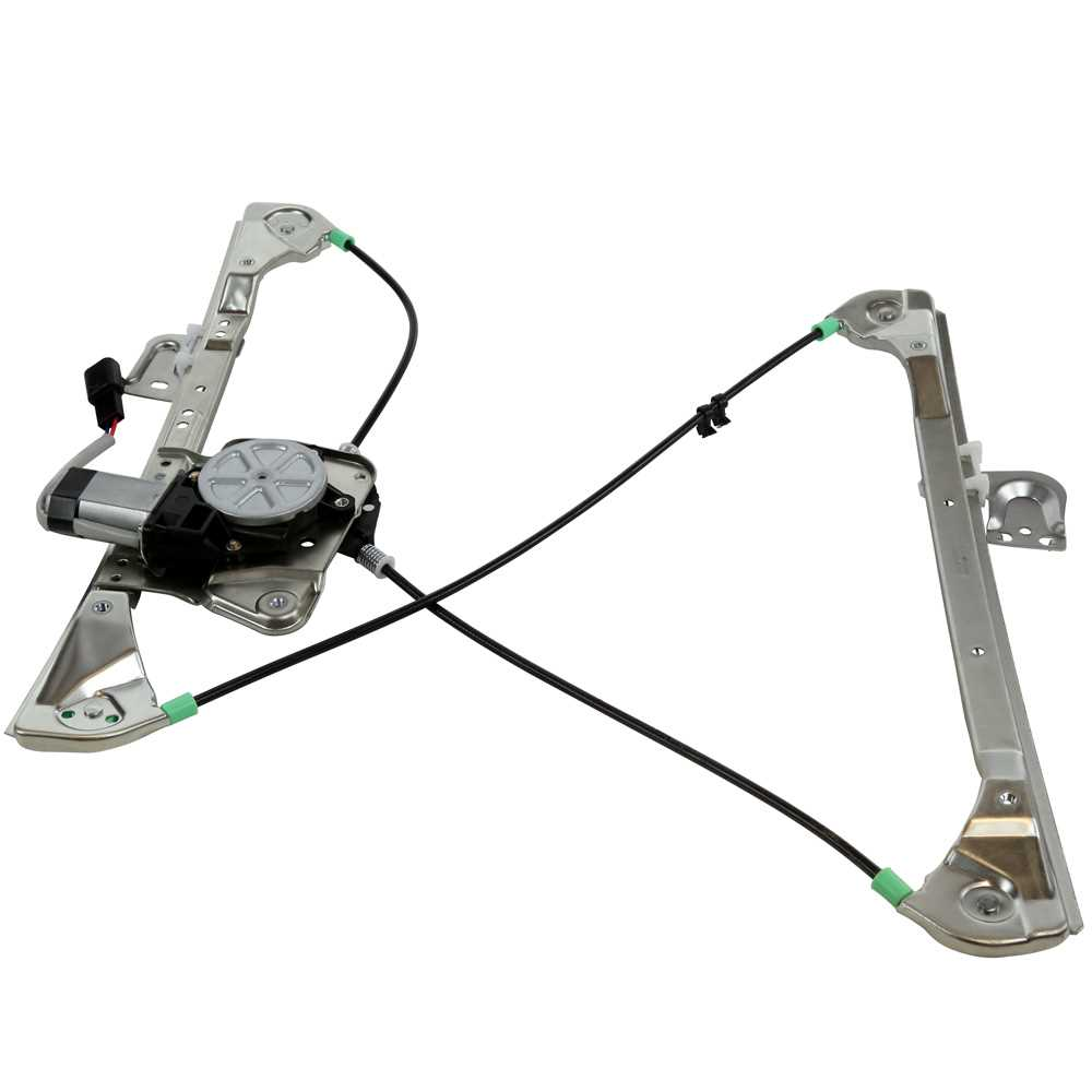 AutoShack WR841952 Front Driver Side Power Window Regulator with Motor